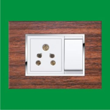 Module Cover Plates – Forest Wood