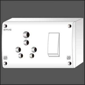 6-16-Amp.-S.S.-Combined-Switch-Socket-With-Box.